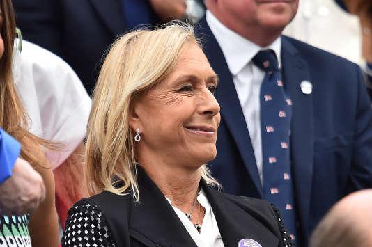 L'ancienne championne d'origine tchèque s'est vue signifier qu'elle touchait autant que les hommes effectuant un travail identique.