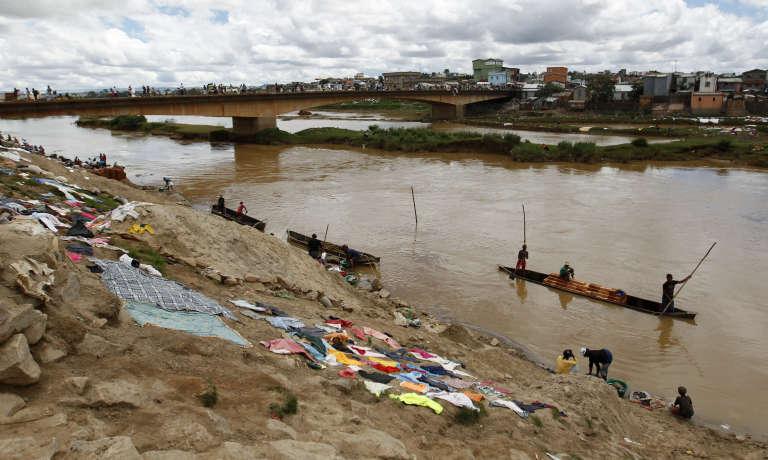 La capitale malgache, Antananarivo, en décembre 2013.