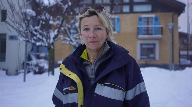 Marie Devey, 55 ans, factrice, Les Houches, près de Chamonix (Haute-Savoie).