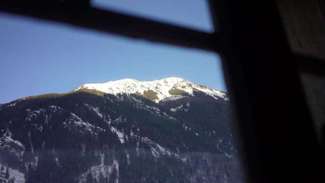 Les Houches, près de Chamonix (Haute-Savoie).