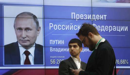 A Moscou, le 19 mars.