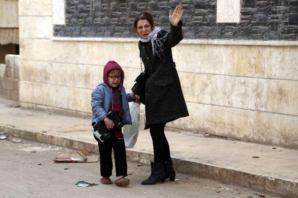 La Turquie nie avoir visé la population, mais l'OSDH évalue à plus de 280 le nombre de civils tués depuis le début de l'offensive d'Ankara.