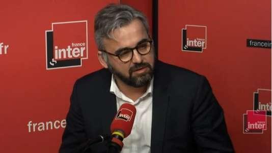 Le député de La France insoumise Alexis Corbière, lundi19 mars, sur France Inter.