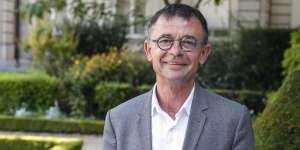 Joël Aviragnet, ici le 22 juin 2017, largement réélu dans la circonscription de la Haute-Garonne.