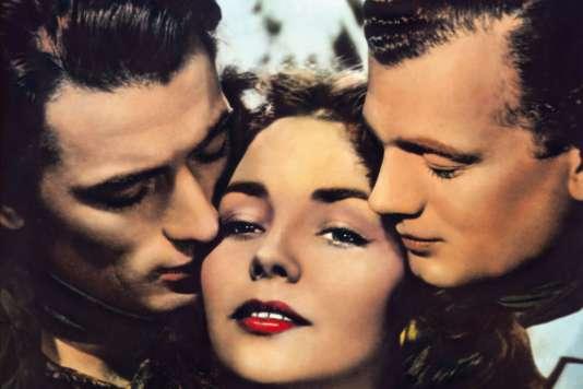 Gregory Peck, Jennifer Joneset Joseph Cotten dans« Duel au soleil» (1946), de King Vidor.