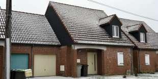 Le domicile de Dino S. à Pont-sur-Sambre (Nord), le 1er mars.