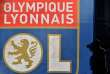 (FILES) In this file photo taken on October 29, 2016 shows the flag of the logo of Olympique Lyonnais French football club during the French Ligue 1 football match between Toulouse FC (TFC) and Olympique Lyonnais (OL) at the Municipal Stadium in Toulouse southern France. UEFA on March 19, 2018 charged French club Lyon with racist behaviour and crowd disturbances at last week's Europa League match against CSKA Moscow. / AFP / Rémy GABALDA