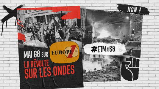 Illustration de« Mai 68, la Révolte sur les ondes».