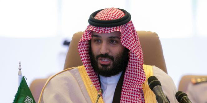 Le prince héritier Mohammed Ben Salman, le 26 novembre 2017 à Ryad (Arabie saoudite).