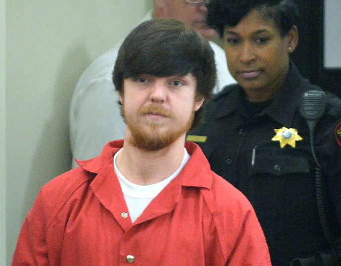 Ethan Couch, lors de son procès à Fort Worth, au Texas, le 13 avril 2016.