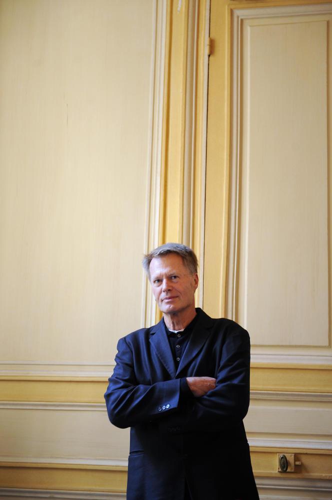 L'écrivain J. M. G. Le Clézio en 2008, au moment de son prix Nobel de littérature.