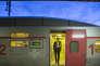 En suivant Frédérique Emonot, chef de bord (contrôleuse) sur TGV Lyria. À bord du Lausanne Paris. Gare de Vallorbe. Vendredi 16 mars 2018 - 2018©Jean-Claude Coutausse / french-politics pour Le Monde