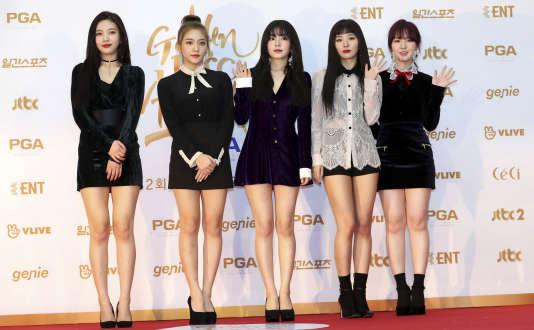Le groupe sud-coréenRed Velvet va faire un concert àPyongyang, en Corée du Nord.