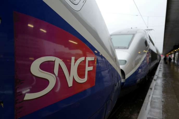 A la gare de Lyon, à Paris, en février.