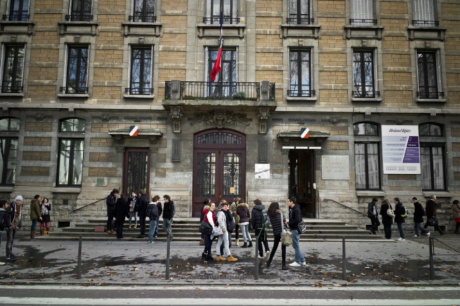 Le lycée du Parc, à Lyon.