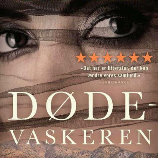 La couverture danoise de« La laveuse de morts», de Sara Omar.