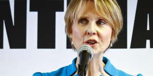 L'actrice de la série« Sex and the City»,Cynthia Nixon, a annoncé, le 20 mars à New York, qu'elle se présentait au poste de gouverneure de New York.