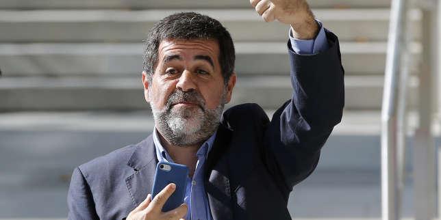 Catalogne: emprisonné, l'indépendantiste Jordi Sanchez renonce à la présidence de la Catalogne