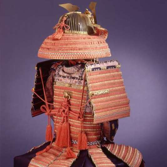Armure de samouraï aux armoiries de la famille Ando, époque Edo, vers 1850.