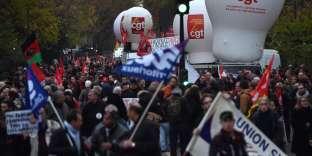 Le dispositif a été testé par le collectif de médias lors d'une journée de mobilisation contre le gouvernement, le 16 novembre 2017 à Paris.
