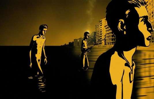 «Valse avec Bachir» (2008),d'Ari Folman,fait partie des films les mieux notés par les spectateurs.
