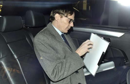 Alexander Nix, directeur général de Cambridge Analytica (CA) a été suspendu le 20 mars à Londres.