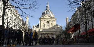 La Sorbonne, en mars 2015.