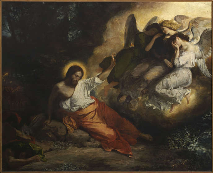 « Le Christ au jardin des Oliviers » (1827), d'Eugène Delacroix, à l'église Saint-Paul-Saint-Louis (Paris 4e).