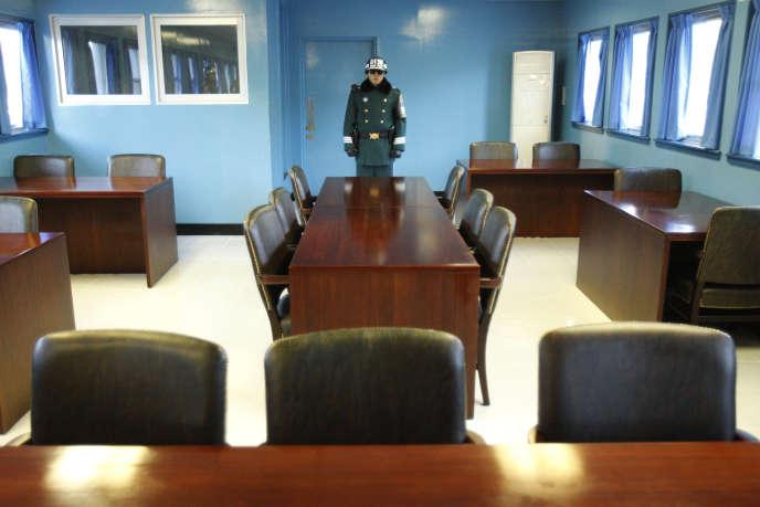 Les deux Corées enverront chacune une délégation de trois membres dans le village frontalier de Panmujom, dans la Zone démilitarisée.