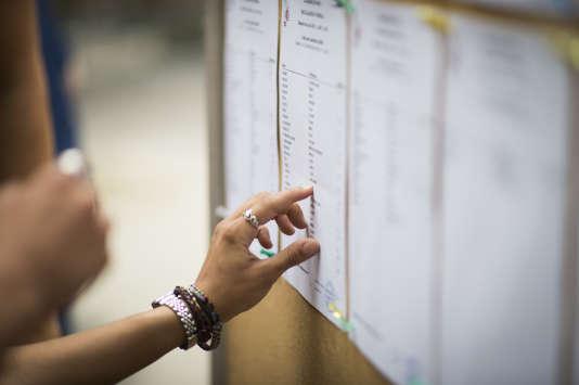 Le classement des lycées est réalisé en combinant quatre critères , dont le taux de réussite au bac (photo), à partir des indicateurs du ministère de l'éducation nationale.