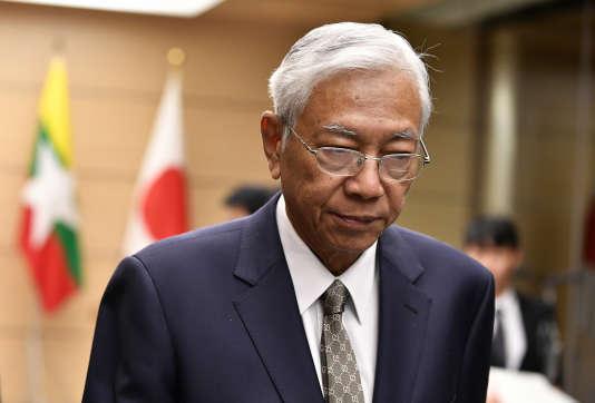 Htin Kyaw, le 14 décembre 2017.