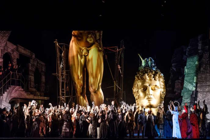«Benvenuto Cellini», d'Hector Berlioz, mis en scène par Terry Gilliam à l'Opéra Bastille.