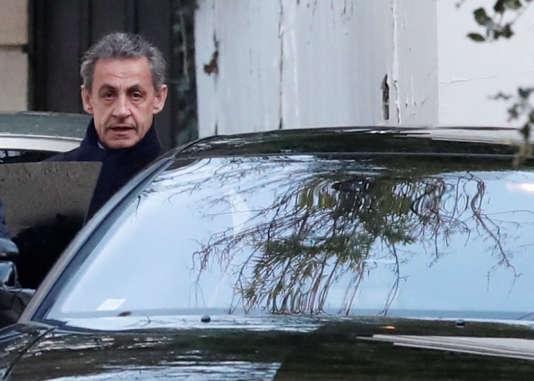 Nicolas Sarkozy, le 21 mars à Paris.