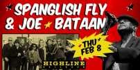 Spanglish Fly, flyer de la soirée de lancement de l'album«Ay Que Boogaloo!».