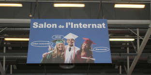 Affiche du Salon de l'internat, à Paris.