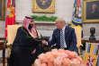 Rencontre entre Donald Trump et Mohammed Ben Salman, le 20 mars à Washington.