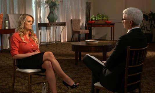 Stormy Daniels a été interviewée par Anderson Cooper pour l'émission «60 Minutes» de CBS diffusée le 25 mars.