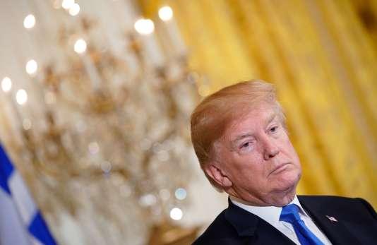 Le président américain, Donald Trump, à Washington, le 22 mars 2018.
