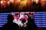 Une émission de la chaîne chinoise CCTV diffusée dans une gare de Pékin, le 15 janvier.