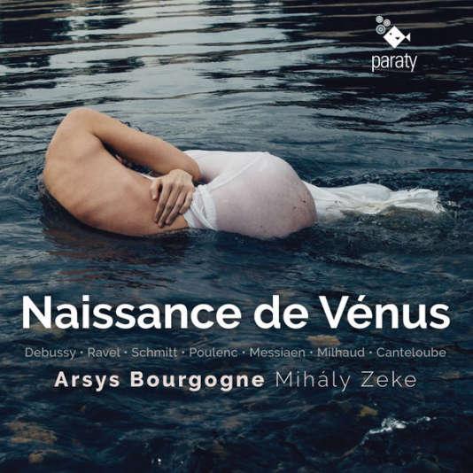 Pochette de l'album« Naissance de Vénus», d'Arsys Bourgogne.