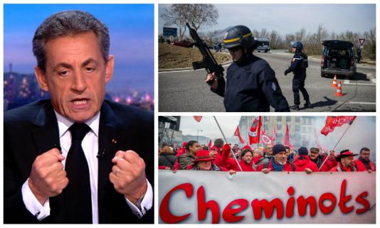 Attaque à Trèbes, mise en examen de Nicolas Sarkozy, grève des cheminots : l'essentiel de l'actualité de la semaine du 19 mars.