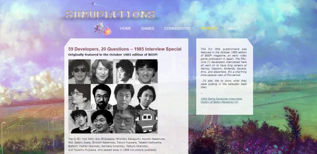 Shmuplations.com, référence chez les passionnés des jeux vidéo japonais d'antan, repose sur l'abnégation d'un seul homme.