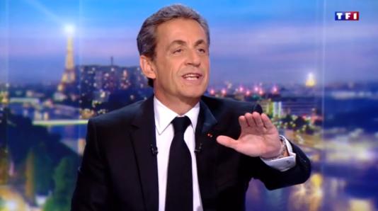 Nicolas Sarkozy, au 20 heures de TF1, le 22 mars.