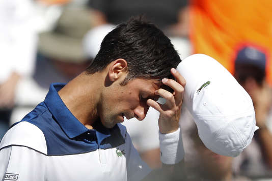 Novak Djokovic, le 23 mars.
