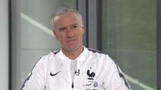 Didier Deschamps, invité de« 24H Pujadas : l'info en questions» sur LCI.