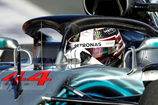Lewis Hamilton (Mercedes) a dominé les deux premières séances d'essais, le 23mars, à Melbourne, en Australie.