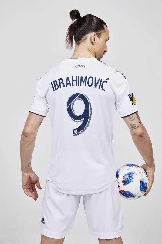 Ibrahimovic sous ses nouvelles couleurs.