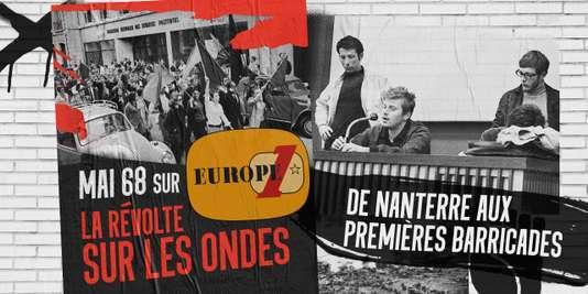 Illustration de «Mai 68, la révolte sur les ondes».