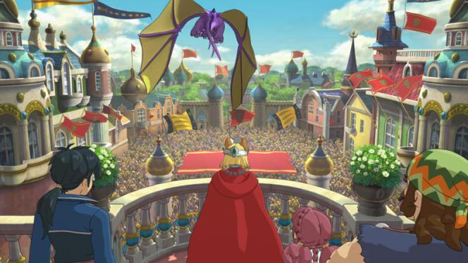 « Ni no Kuni II: Revenant Kingdom» reprend le faste et le charme du style Ghibli.
