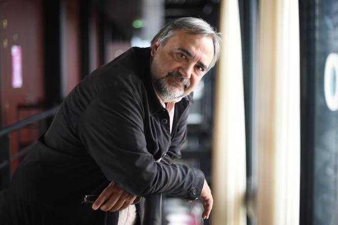 Jean Varela, président du Printemps des comédiens, à Montpellier, en mai 2016.